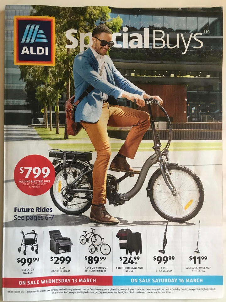 Aldi Australia Catalogue Wednesday 13 March & Saturday 16 March 2019