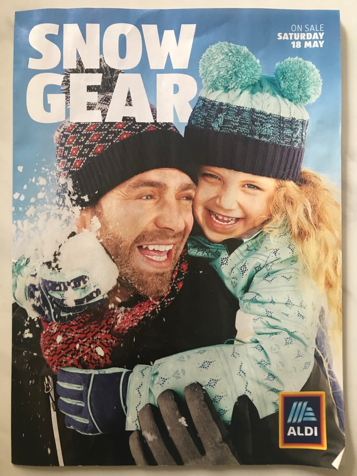 Aldi Australia Catalogue Wednesday 15 May & Saturday 18 May 2019 [Snow Gear Sale]