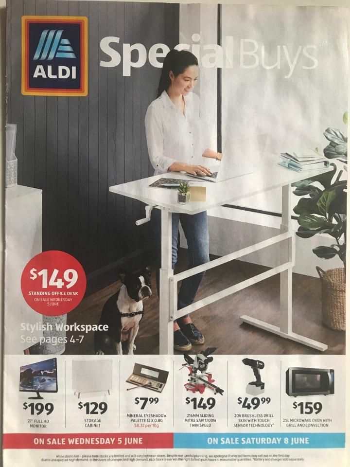 Aldi Australia Catalogue Wednesday 5 June & Saturday 8 June2019