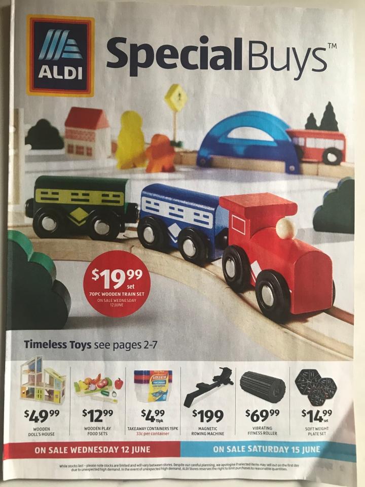 Aldi Australia Catalogue Wednesday 12 June & Saturday 15 June2019
