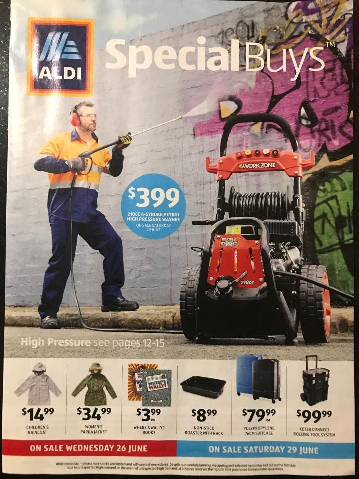 Aldi Australia Catalogue Wednesday 26 June & Saturday 29 June2019