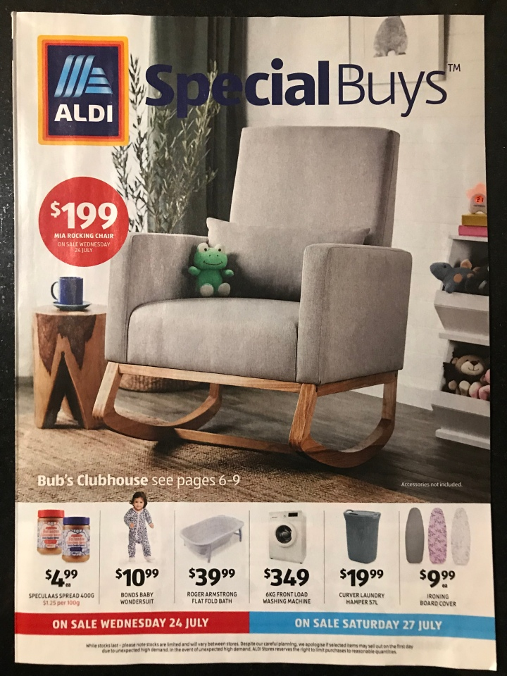 Aldi Australia Catalogue Wednesday 24 July & Saturday 27 July 2019