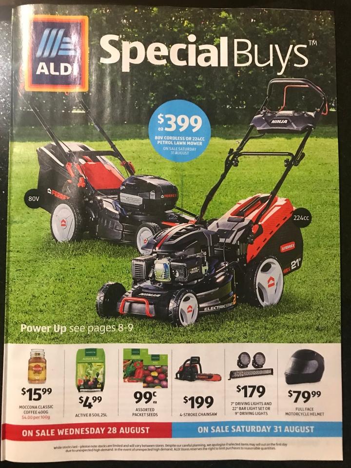 Aldi Australia Catalogue Wednesday 28 August & Saturday 31 August2019