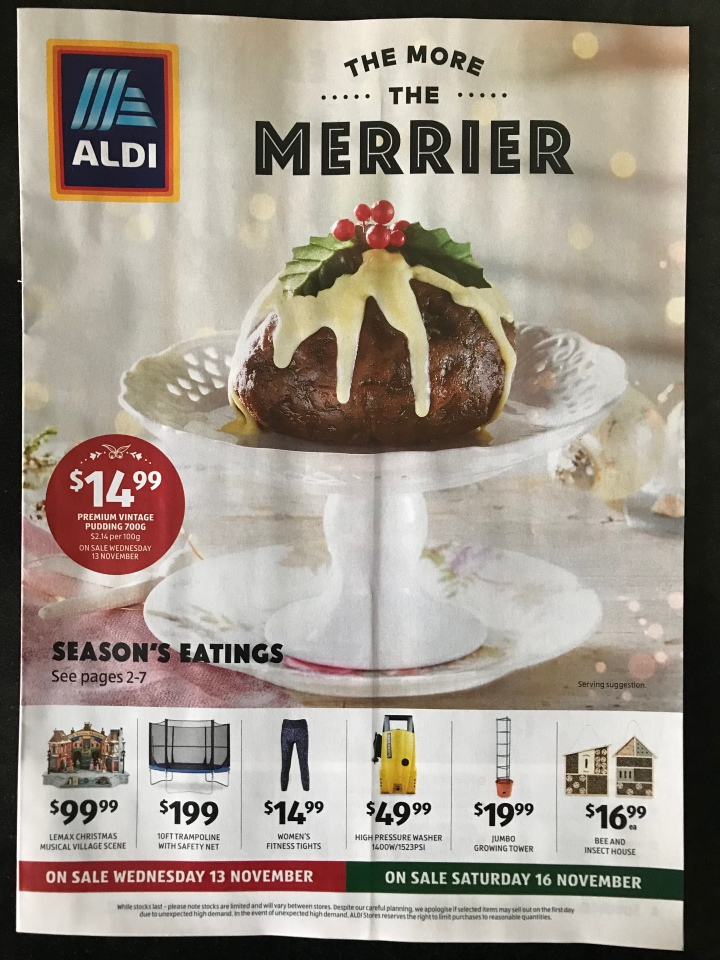 Aldi Australia Catalogue Wednesday 13 November & Saturday 16 November 2019