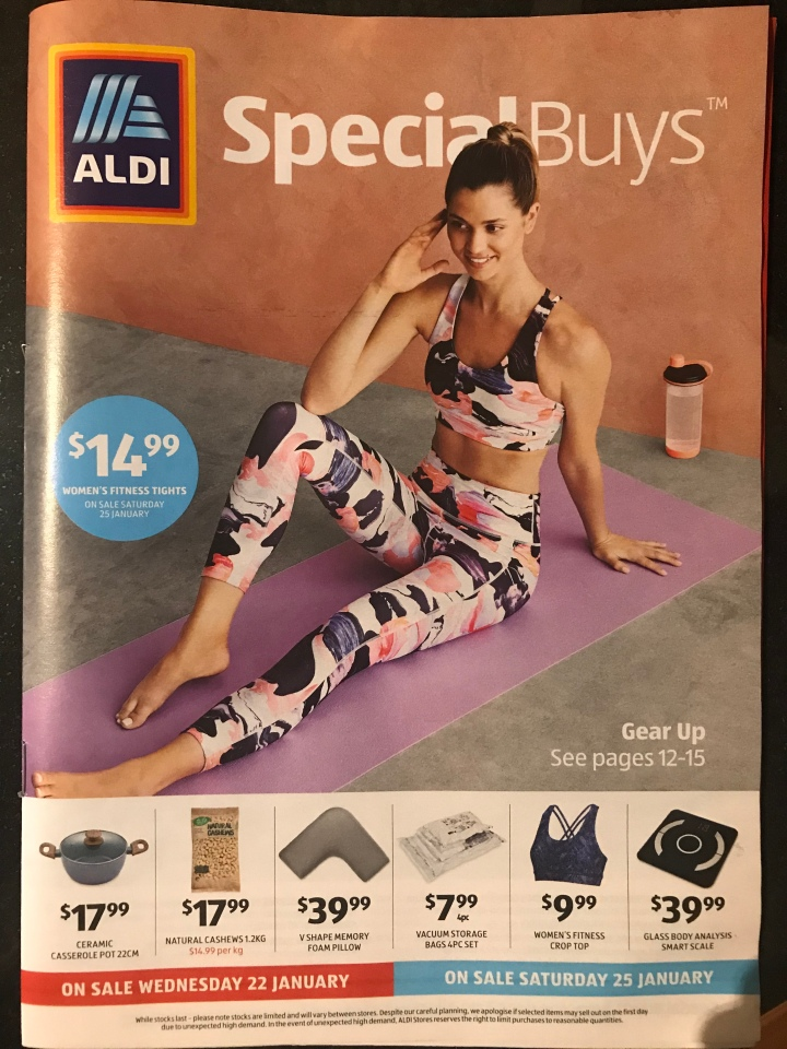 Aldi Australia Catalogue Wednesday 22 January & Saturday 25 January 2020