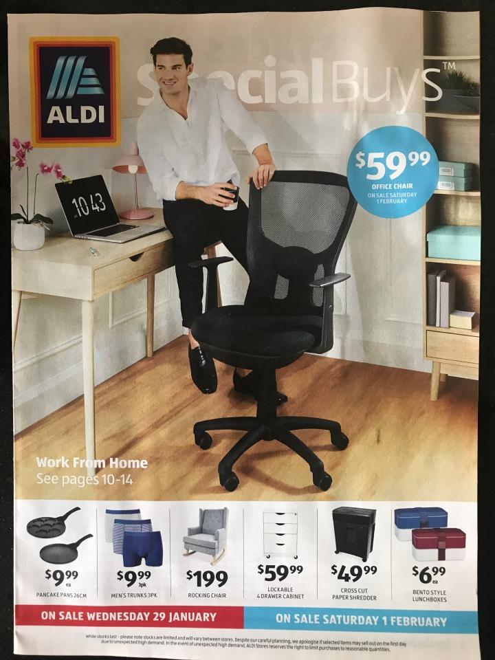 Aldi Australia Catalogue Wednesday 29 January & Saturday 1 February2020