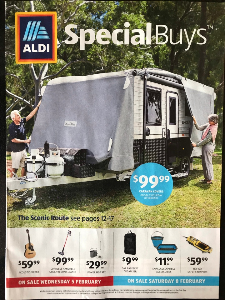 Aldi Australia Catalogue Wednesday 5 February & Saturday 8 February 2020