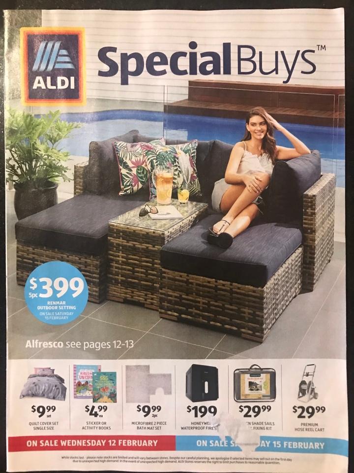 Aldi Australia Catalogue Wednesday 12 February & Saturday 15 February2020