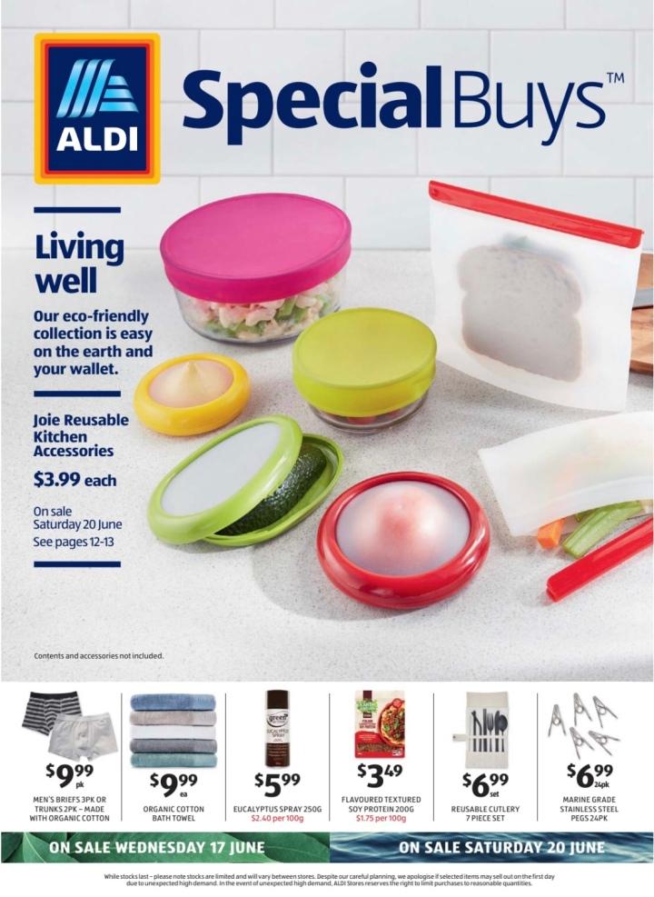 Aldi Australia Catalogue Wednesday 17 June & Saturday 20 June2020