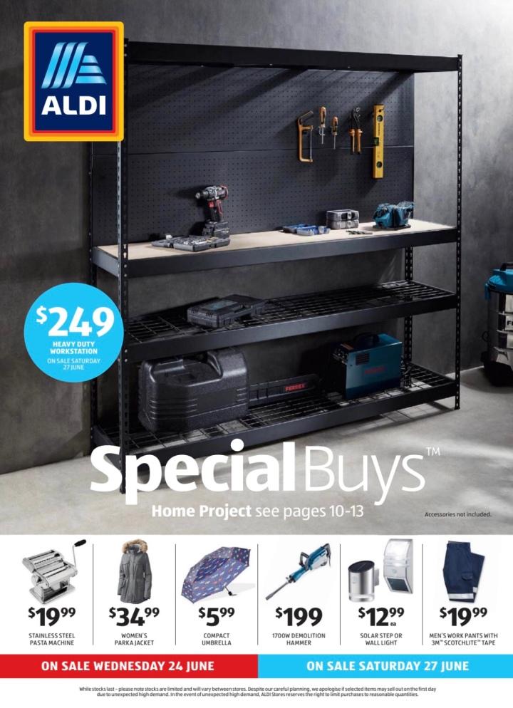 Aldi Australia Catalogue Wednesday 24 June & Saturday 27 June2020