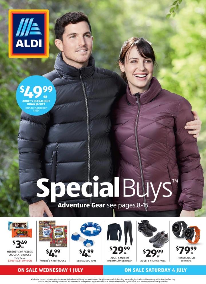 Aldi Australia Catalogue Wednesday 1 July & Saturday 4 July2020