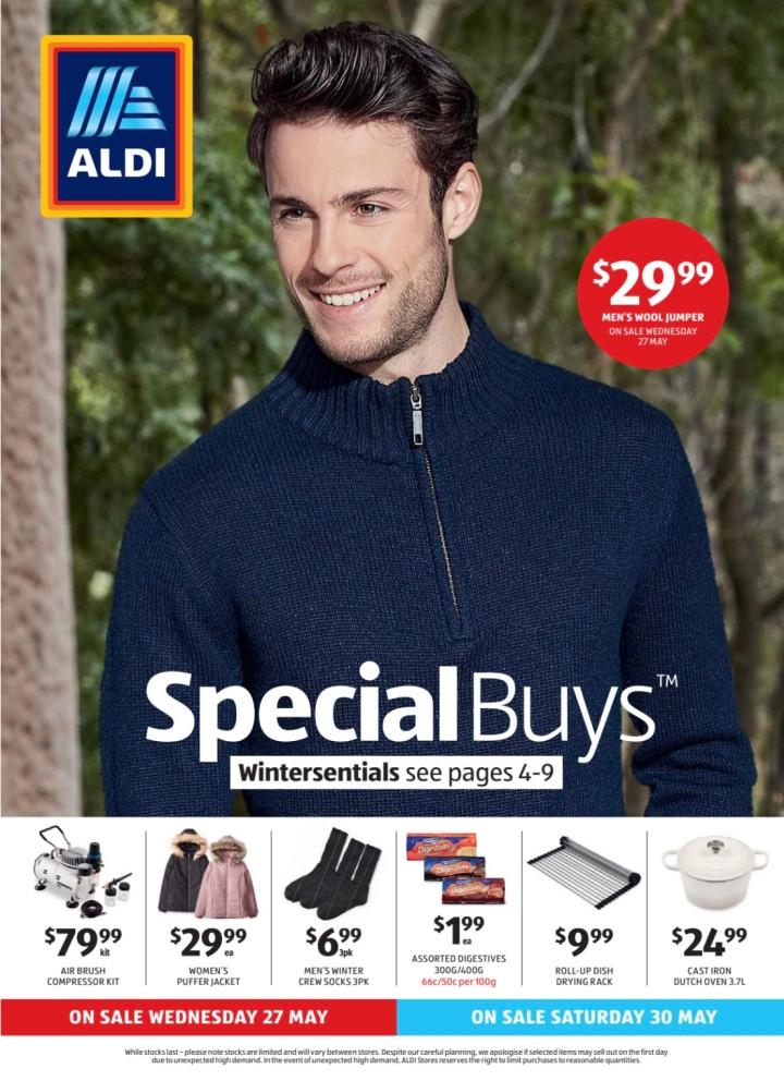 Aldi Australia Catalogue Wednesday 27 May & Saturday 30 May2020