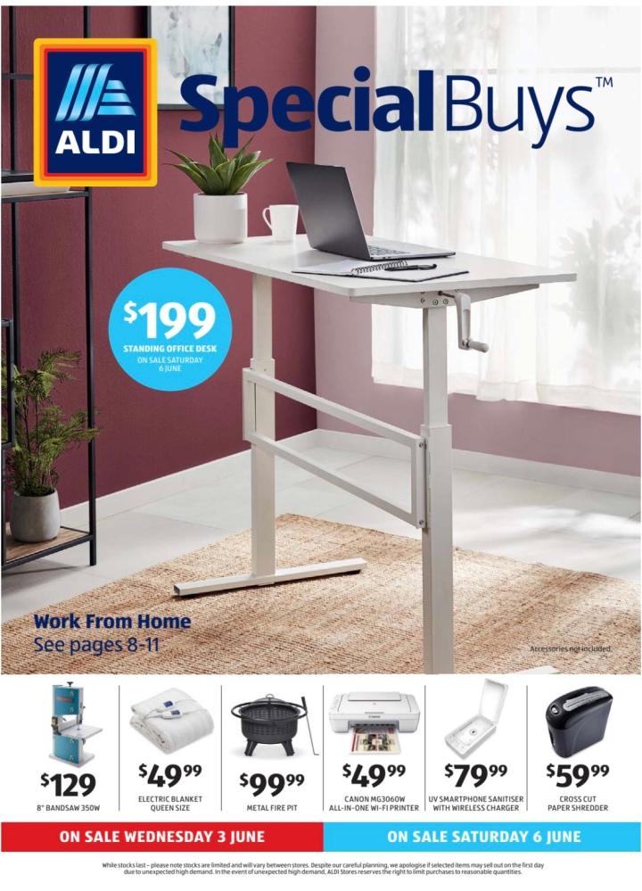 Aldi Australia Catalogue Wednesday 3 June & Saturday 6 June2020
