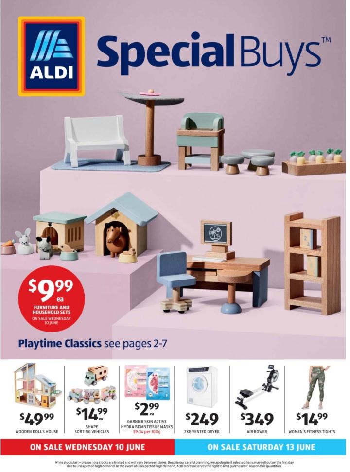 Aldi Australia Catalogue Wednesday 10 June & Saturday 13 June2020