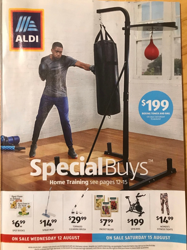 Aldi Australia Catalogue Wednesday 12 August & Saturday 15 August2020