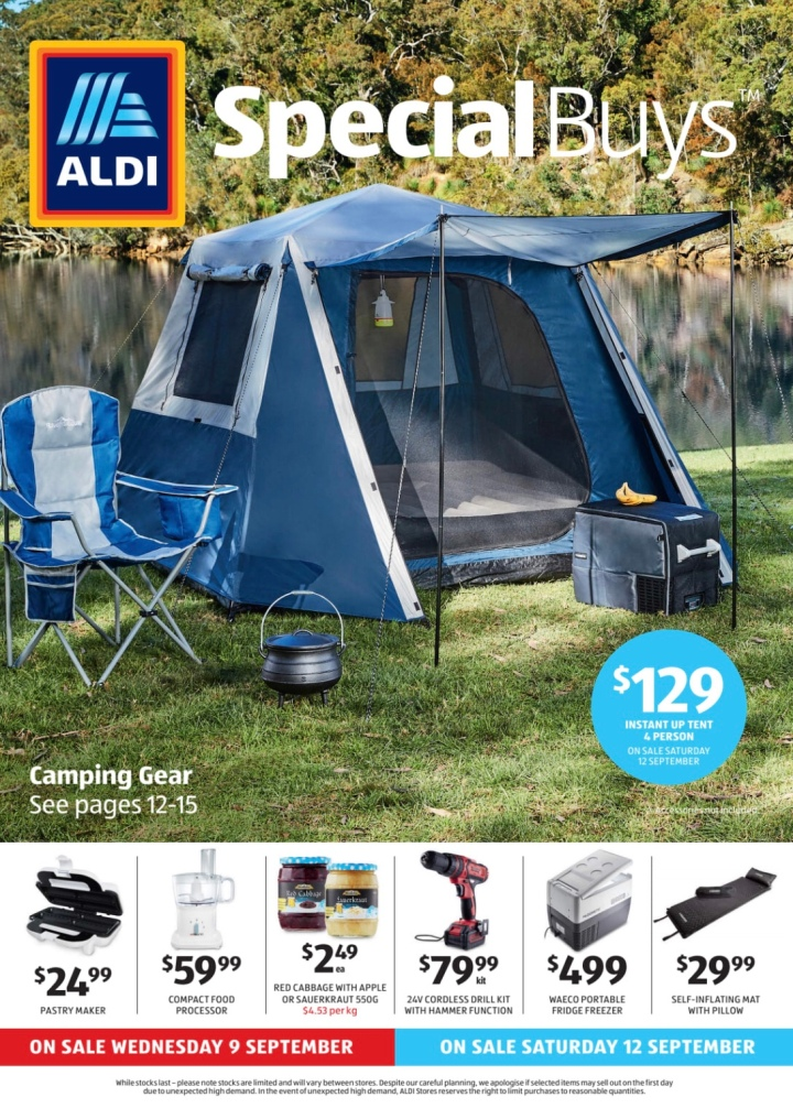 Aldi Australia Catalogue Wednesday 9 September & Saturday 12 September 2020