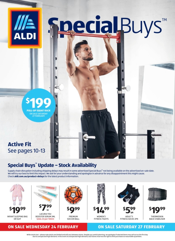 Aldi Australia Catalogue Wednesday 24 & Saturday 27 February 2021