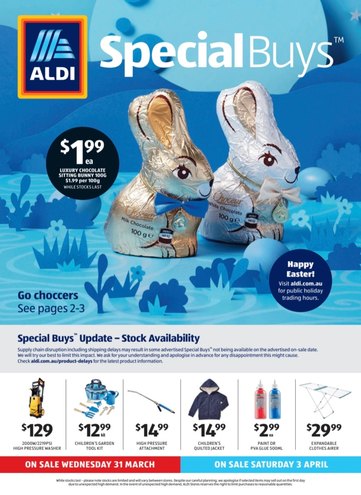 Aldi Australia Catalogue 31 March & 3 April 2021