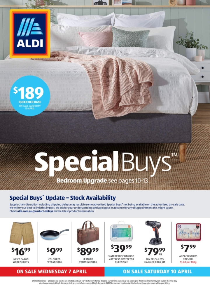 Aldi Australia Catalogue Wednesday 7 April & Saturday 10 April 2021
