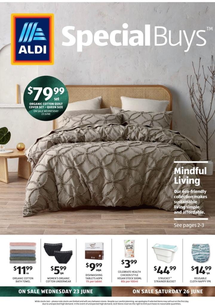 Aldi Australia Catalogue Wednesday 23 June & Saturday 26 June2021