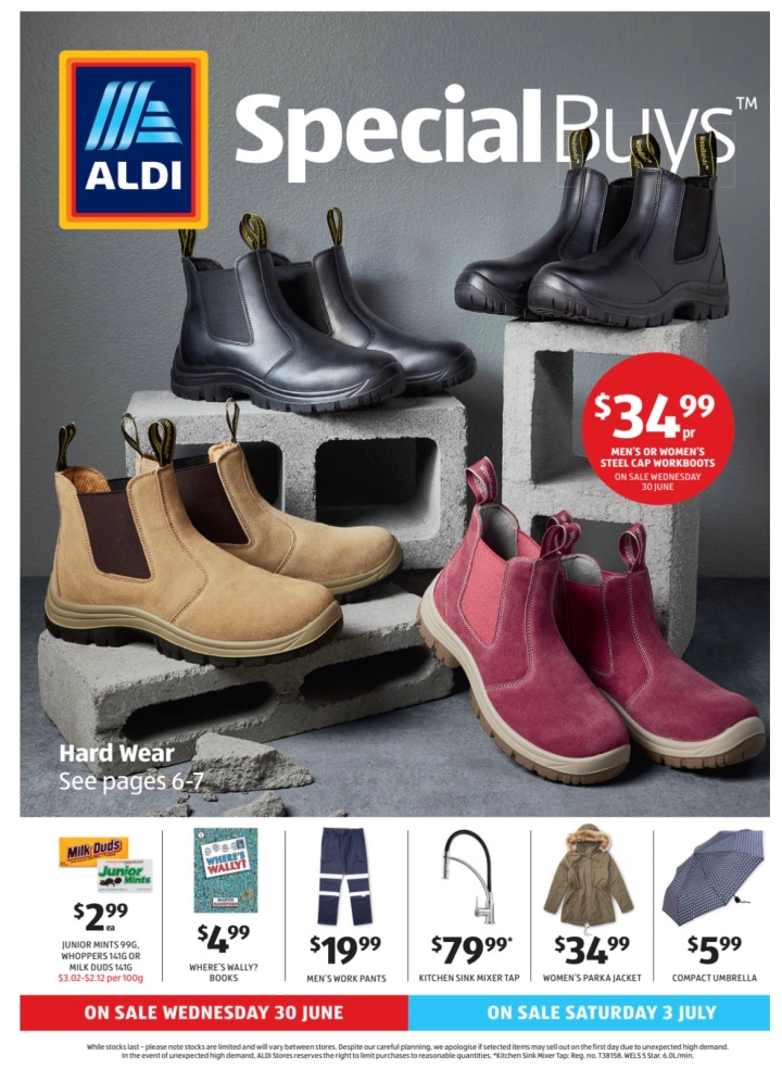 Aldi Australia Catalogue Wednesday 30 June 2021 & Saturday 3 July2021