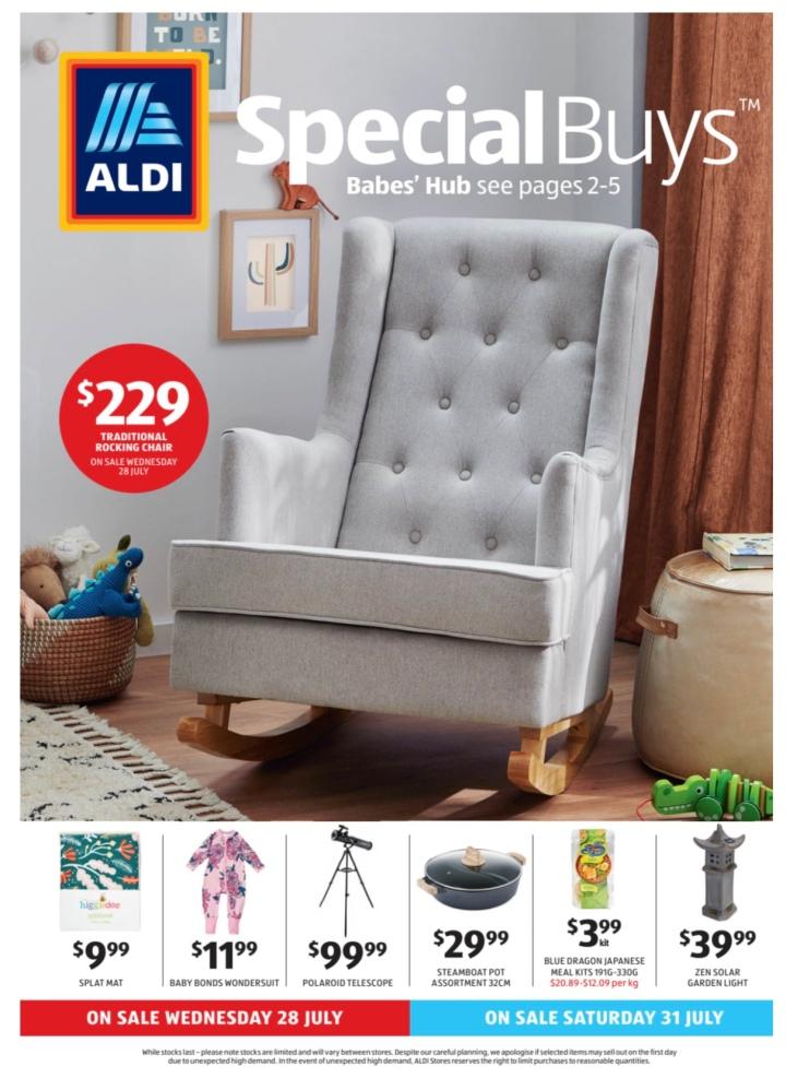 Aldi Australia Catalogue Wednesday 28 July & Saturday 31 July2021